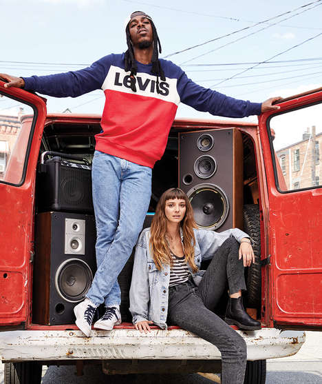 Hip Hop-Inspired Denim Collections