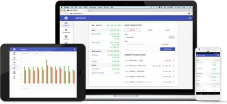 Cloud-Based Finance Platforms - 'MoneyTracker' Manages Your Finances to Keep You on Track