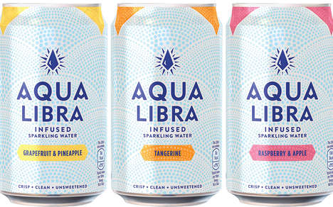 Unsweetened Infused Sparkling Drinks