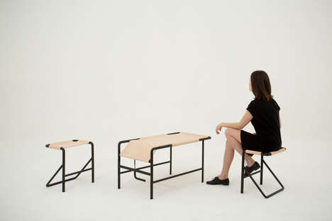 Leather-Crafted Coffee Tables