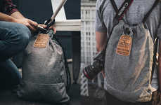 Theft-Proof Drawstring Bags