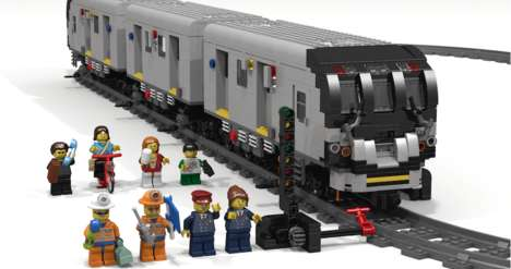 LEGO-Recreated Subway Systems