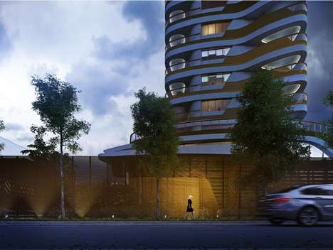 Curvy Residential Towers