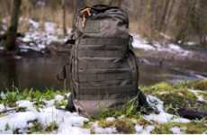 Modular Military-Inspired Backpacks
