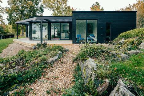 Glazed Bat-Shaped Homes