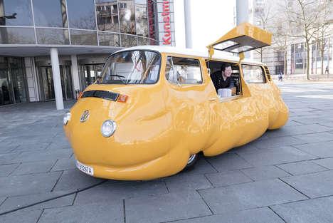 Hot Dog-Serving Art Installations