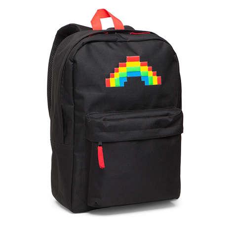 8-Bit Rainbow Backpacks