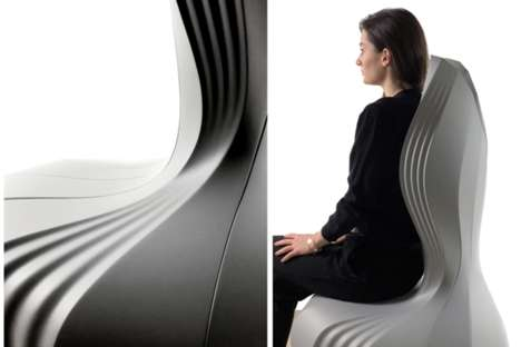 Virtually Sculpted Chairs