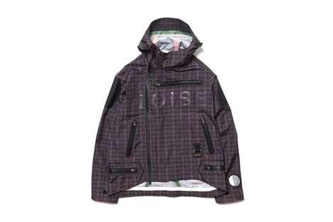 Waterproof Checkered Jackets