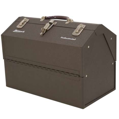 Powder-Coated Cantilever Toolboxes - This Toolbox Secures Industrial Tools and Accessories