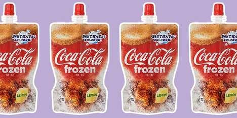 Frozen Soda Slushies