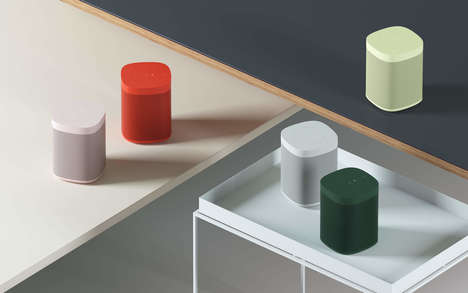 Colorful Danish Luxury Speakers