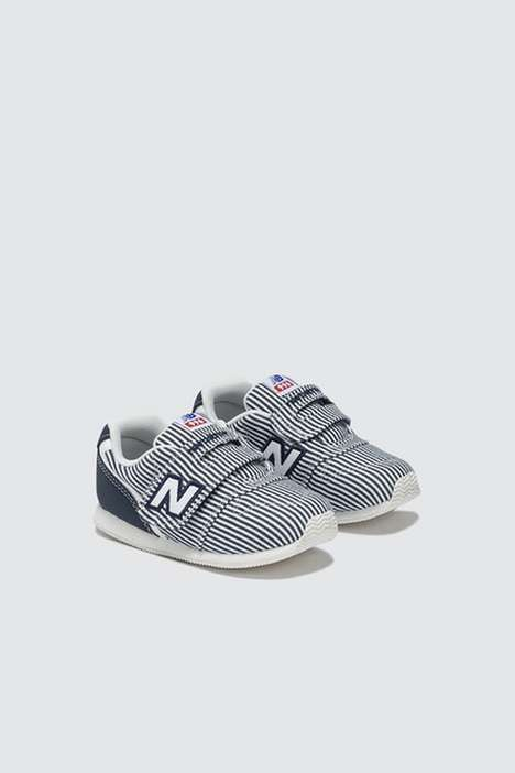 Nautical Summer Baby Shoes - New Balance's 996 Baby Sneakers Have a New Seersucker Design
