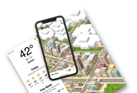 Cute Animated Weather Apps