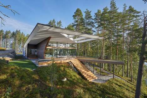 Re-Imagined Luxe Log Homes