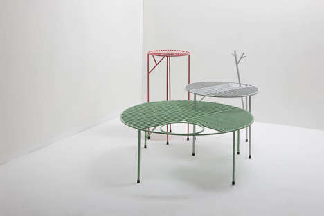 Vibrant Nature-Inspired Tables