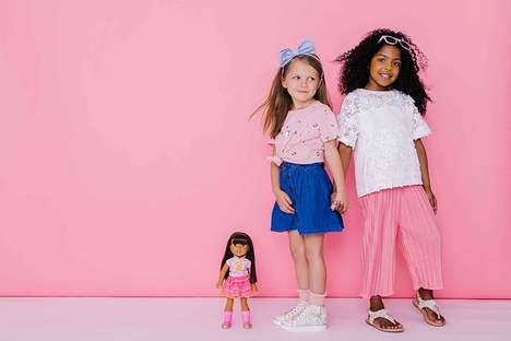 Doll-Inspired Shoe Collections - American Girl Doll Created a Matching Line of Shoes for Children