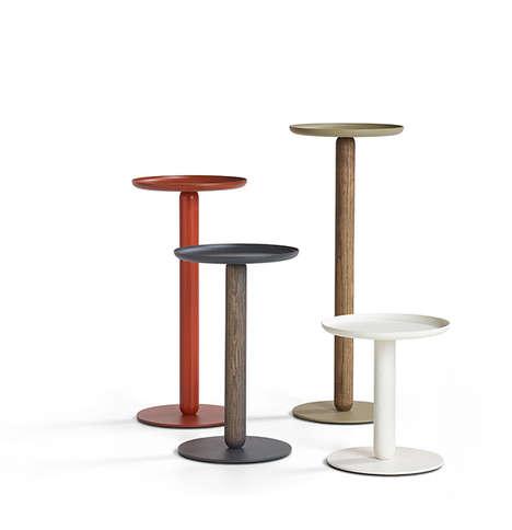 One-Legged Miniature Tables