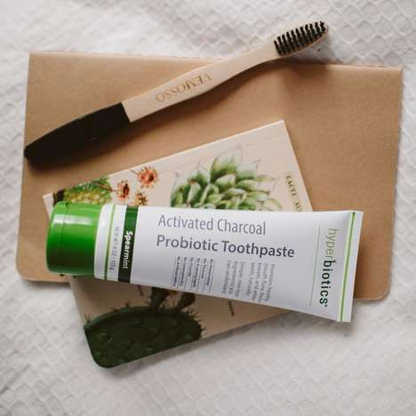 Probiotic Charcoal Toothpastes