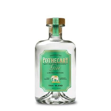 Thai-Inspired Gin Spirits