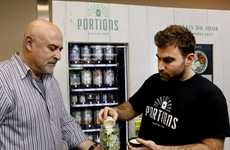 Raw Salad Vending Machines - Montreal Startup Portions Specializes in Healthy, Jarred Salad Meals