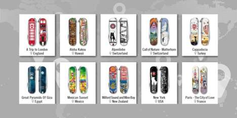 City-Themed Pocket Knives - Victorinox Swiss Army's Contest Attracted a Global Community of Artists