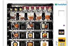 Hearty Meal Vending Machines - FamilyMart Co. Vending Machines Offer Homestyle Food Favorites