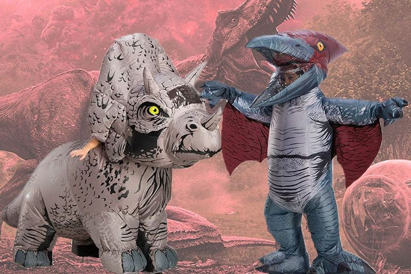 Inflatable Dinosaur Toys : Jurassic World Inflatable Costumes