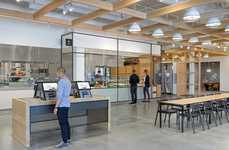 Interactive Office Food Halls - The eBay Office Cafeteria Boasts a Smart Self-Ordering System