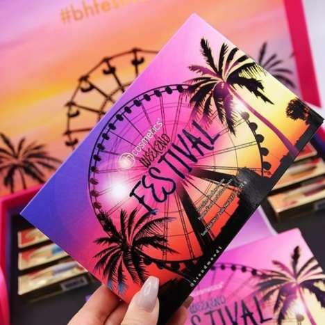 Festival-Ready Cosmetic Sets - Bh Cosmetics Released Its Weekend Festival Palette and Brush Set