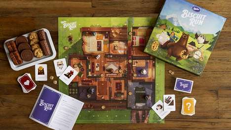 Biscuit Brand Board Games - 'Milka Biscuit Run' is a Board Game Featuring Advertising Characters