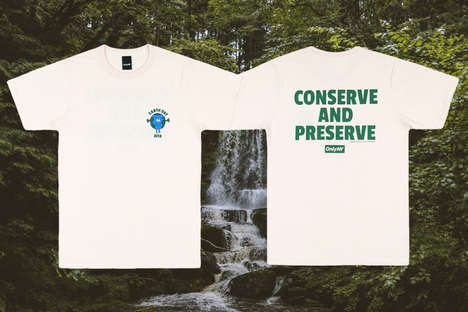Earth Day-Celebratory Shirts - ONLY NY Delivers the Conserve and Preserve T-Shirt To Honor Earth Day