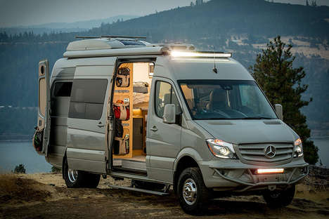Fully-Stocked Van Houses - The Outside Van Powerstation Has Everything Needed for Living on the Road