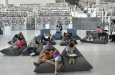 Prism-Shaped National Libraries