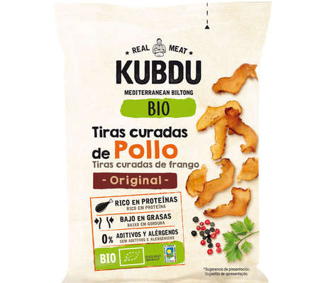 Air-Dried Protein Snacks - KUBDU's Bio Biltong Snacks are Preservative-Free and Naturally Flavored