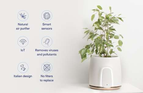 Sensor-Laden Air Purifiers - This Air Purifier Can Monitor Your Home's Temperature and Humidity