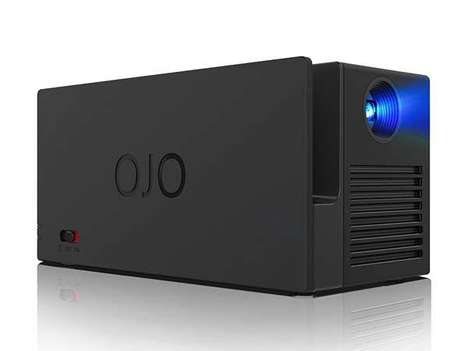 Compact Portable Projectors - The YesOJO Projector is Perfectly Suited For Camping and Fishing Trips