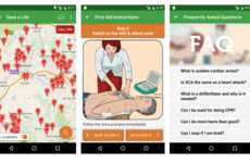 Defibrillator-Detecting Apps