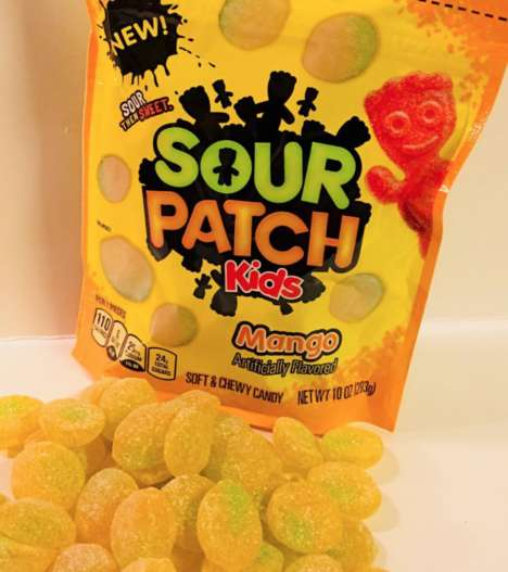 Mouth Cooling Sour Candies Sour Patch Kids Freeze