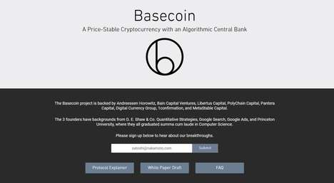 Price-Stable Cryptocurrencies - Basis' 'Basecoin' is Designed to Prevent Wild Price Fluctuations