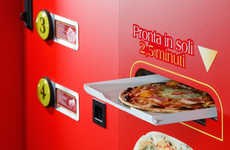 Pizza-Making Vending Machines - The Let's Pizza Machine Creates Fresh Pies With the Push of a Button