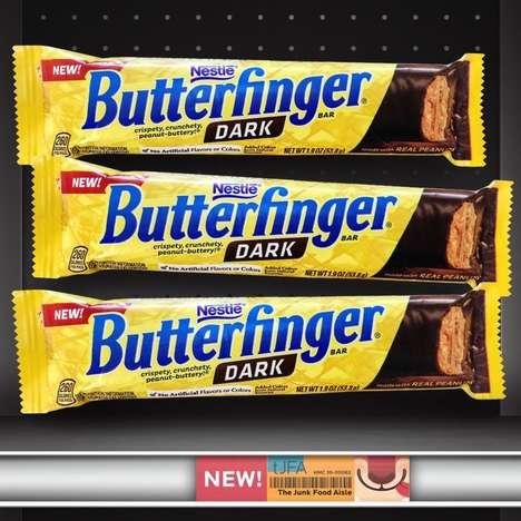 Crunchy Dark Chocolate-Covered Bars