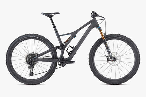 Durable Versatile Mountain Bikes - Specialized's Stumpjumper Mountain Bike Has an Innovative Design