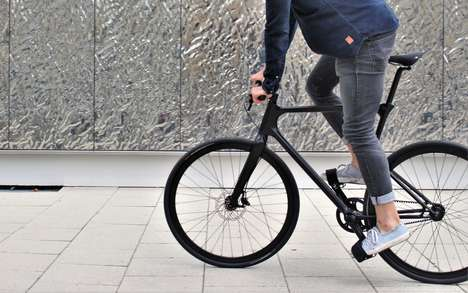 Performance Urban Commuter Bikes - URWAHN Develops Elegant, Technical and Convenient Bikes