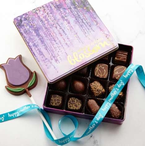 Seasonally Decorated Chocolate Sets