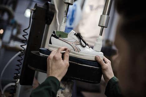 Celebratory Kangaroo Leather Sneakers
