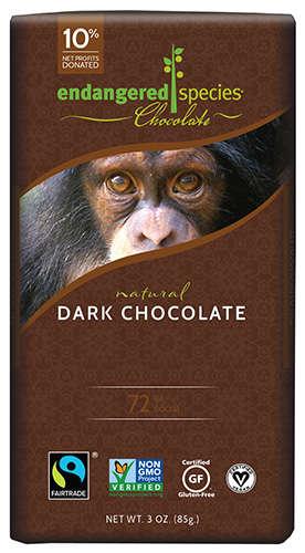 Animal Conservation Dark Chocolates