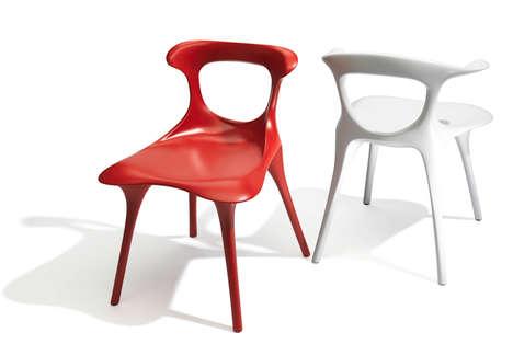 Fluid Skeletal-Inspired Chairs
