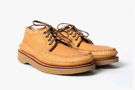 Moccasin-Inspired Men's Shoes