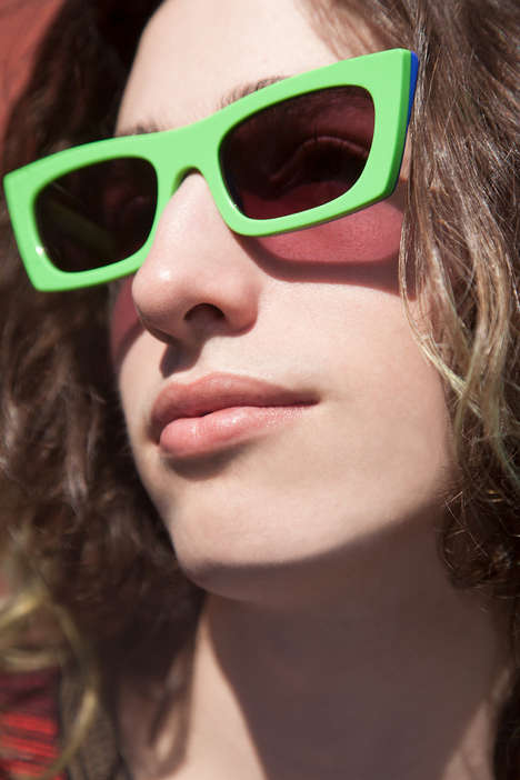 Sharp Angular Sunglasses